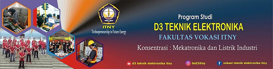 ITNY | D3 TEKNIK ELEKTRONIKA: Konsentrasi Mekatronika dan Listrik Industri